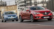 Essai comparatif : la Renault Mégane défie la Volkswagen Golf