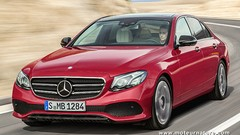 Nouvelle Mercedes classe E, le diesel encore dominant