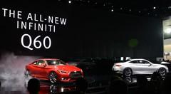 Première mondiale de l'Infiniti Q60