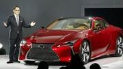 Lexus LC 500, le coupé spectaculaire