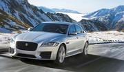 Jaguar XF : aussi avec une transmission intégrale