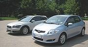 Essai Toyota Auris 2.0 D-4D versus Volvo C30 2.0 D