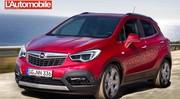 Opel Mokka restylage 2016 : Un lifting pour le printemps