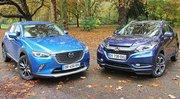 Essai Honda HR-V vs Mazda CX-3 : Complémentaires