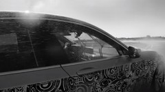 BMW Alpina B7 en approche