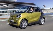 Essai Smart ForTwo Cabrio (2016) : Tout dans la capote