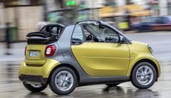 Essai Smart Fortwo Cabrio (2016) : la grisaille urbaine? Pas pour moi!