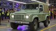 Pourquoi on regrettera le land Rover Defender