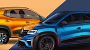 Deux concepts Renault Kwid au salon de New Delhi