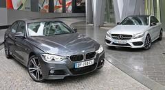 Essai BMW 340i vs Mercedes C 450 : Sportives intermédiaires