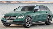 Mercedes Classe E Allroad 2017, le break Classe E façon baroudeur chic