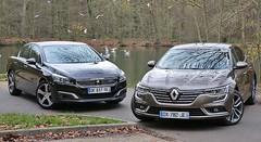 Essai Peugeot 508 vs Renault Talisman : Choc chic français