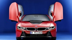 BMW i8 Protonic Red Edition pour Genève