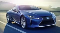 Lexus : une variante hybride du coupé LC à Genève