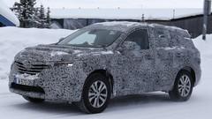 Renault Koleos 2 : Le prochain Koleos surpris sur la neige