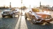 Essai comparatif (2016) : le Mercedes GLC défie l'Audi Q5