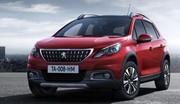Peugeot 2008 : première photo officielle du restylage 2016