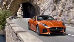 Jaguar F-Type SVR : 575 ch en coupé et en cabriolet