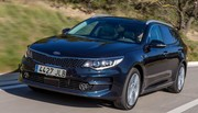 Kia Optima Sportswagon : la 1re fois