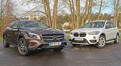 Essai BMW X1 vs Mercedes GLA : Désormais à armes égales