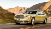 Bentley Mulsanne 2016 : nouveau visage et version longue