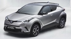 Le Toyota C-HR en fuite