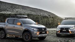 Mitsubishi L200 et ASX Geoseek Concepts : de l'orange