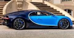 Bugatti Chiron : 1500 ch, 2,4 millions d'euros