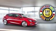L'Opel Astra est la voiture de l'année 2016