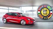 L'Opel Astra élue voiture de l'année: on vous l'avait bien dit !