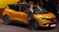 Le Renault Scénic passe la quatrième