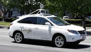 La Google car accroche un bus