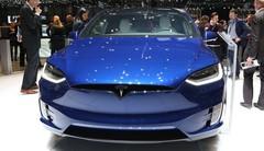 Le Tesla Model X dans sa version de série au salon