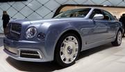 Bentley Mulsanne restylée : plus longue et plus rapide