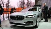 Le stand Volvo au salon de Genève 2016