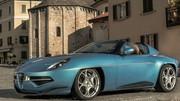 Alfa Romeo Disco Volante Spider : le chaînon manquant