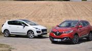Essai Renault Kadjar et Peugeot 3008 : papy fait de la résistance