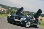 Mercedes SLR Roadster : Yachting sur terre