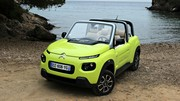 Essai Citroën e-Mehari : plus qu'une simple voiture de plage ?