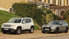 Essai Jeep Renegade vs Mini Clubman : Baroudeuse ou branchée ?