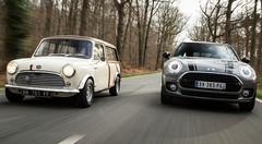 Essai Mini Clubman 2016 vs Mini Countryman 1963: Mini Country Club