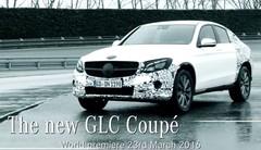 Mercedes GLC Coupé : le teaser vidéo avant sa présentation à New York