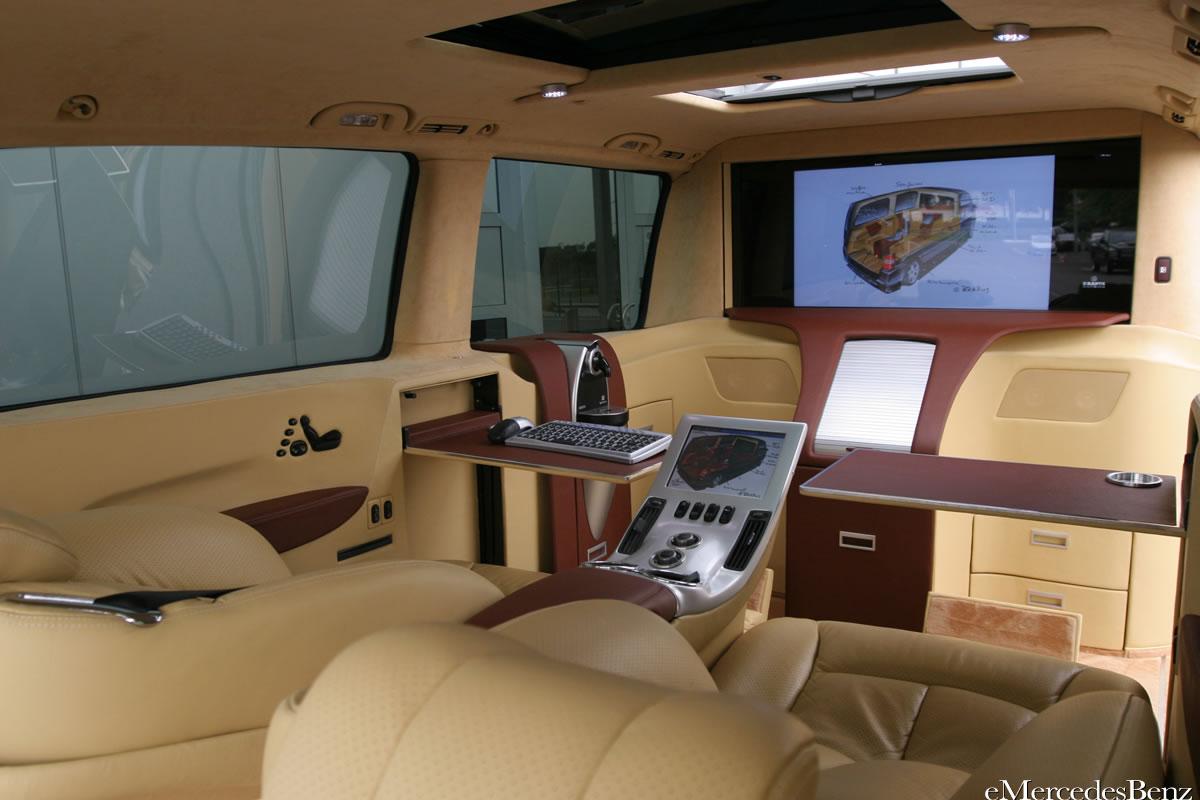 brabus mercedes viano lounge concept auto titre. Black Bedroom Furniture Sets. Home Design Ideas