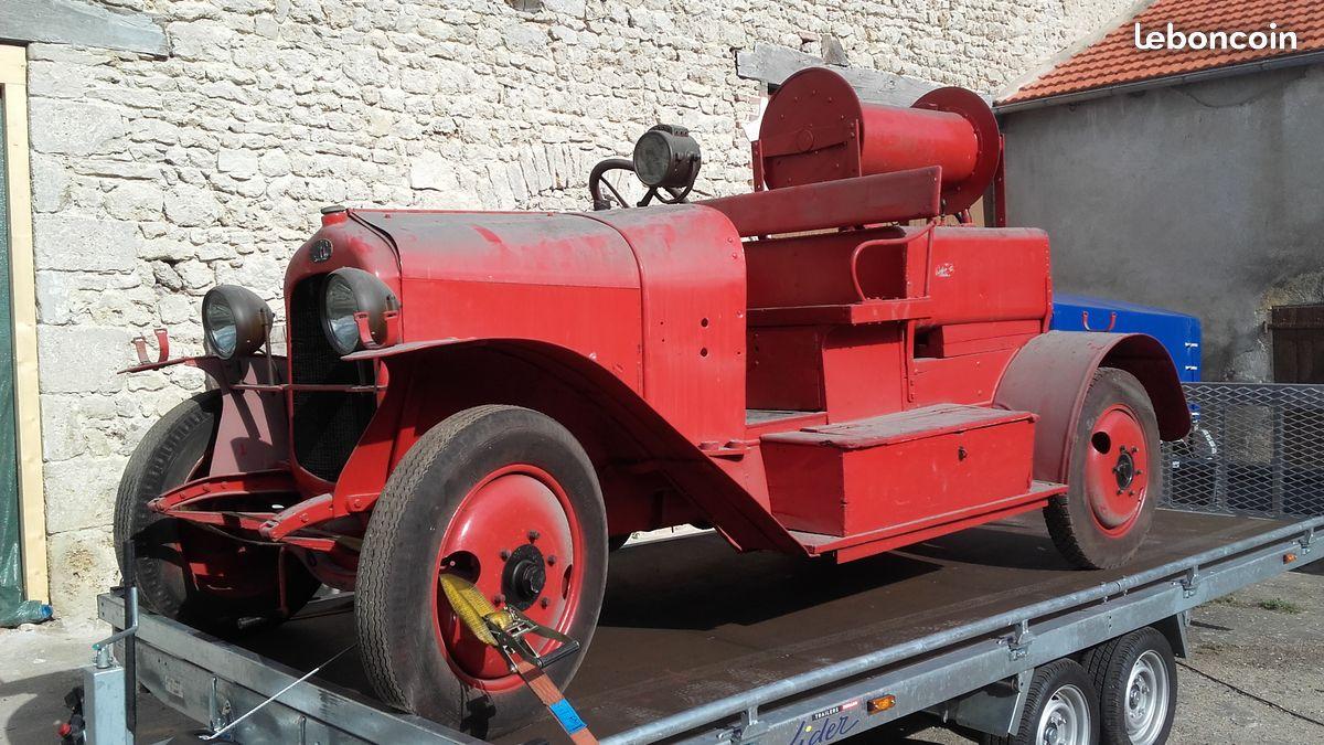 V hicule de pompier ancien page 371 auto titre for Garage mecanique arles