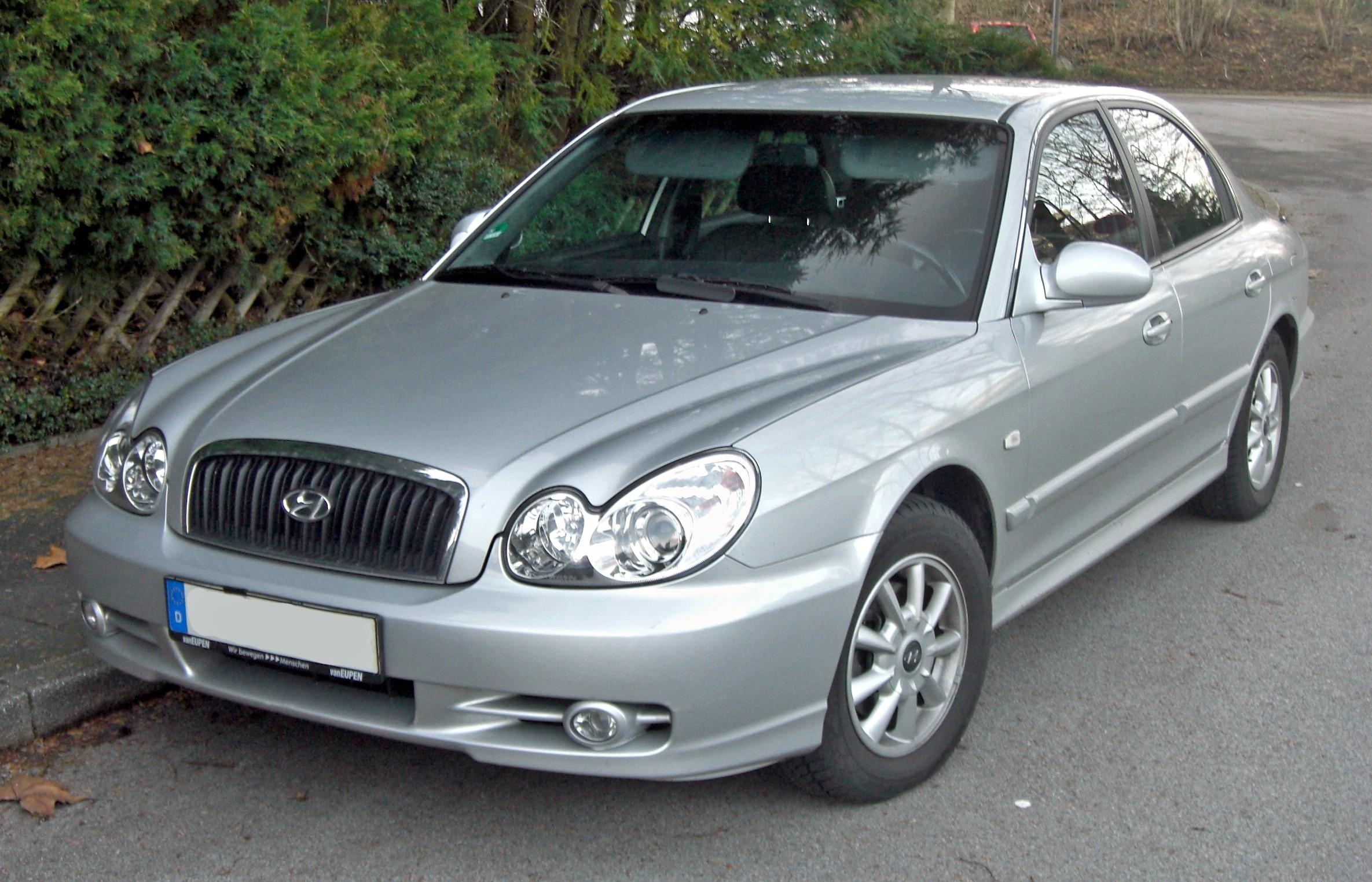 Hyundai Sonata 2001 2004 Auto Titre