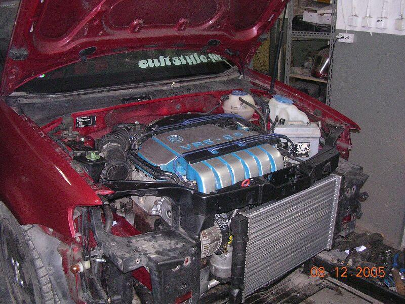 urgent peut on mettre un moteur de vr6 dans une polo 1 4i