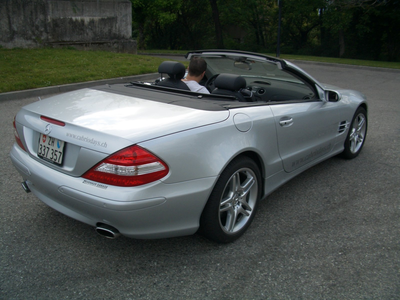 aujourd u0026 39 hui j u0026 39 ai test u00e9 une slk 350 et une sl 500  tofs