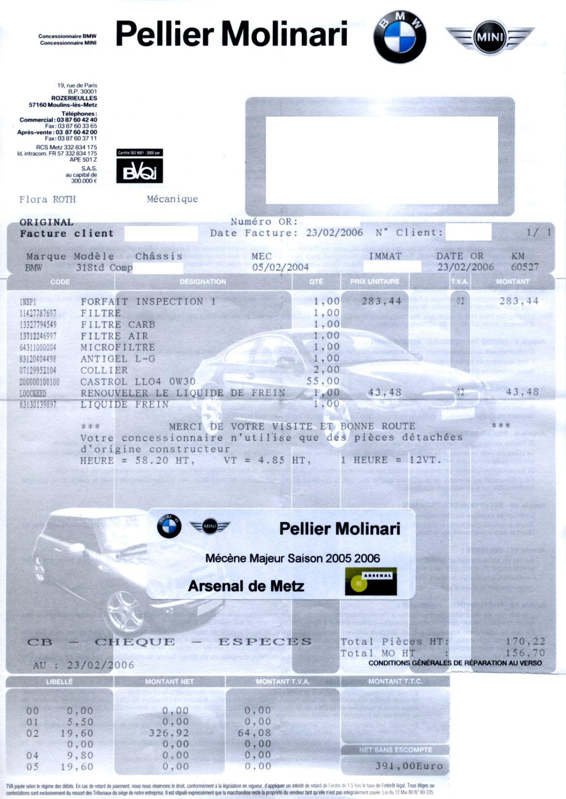 Tarif entretien bmw en augmentation page 2 auto titre - Garage d entretien automobile ...