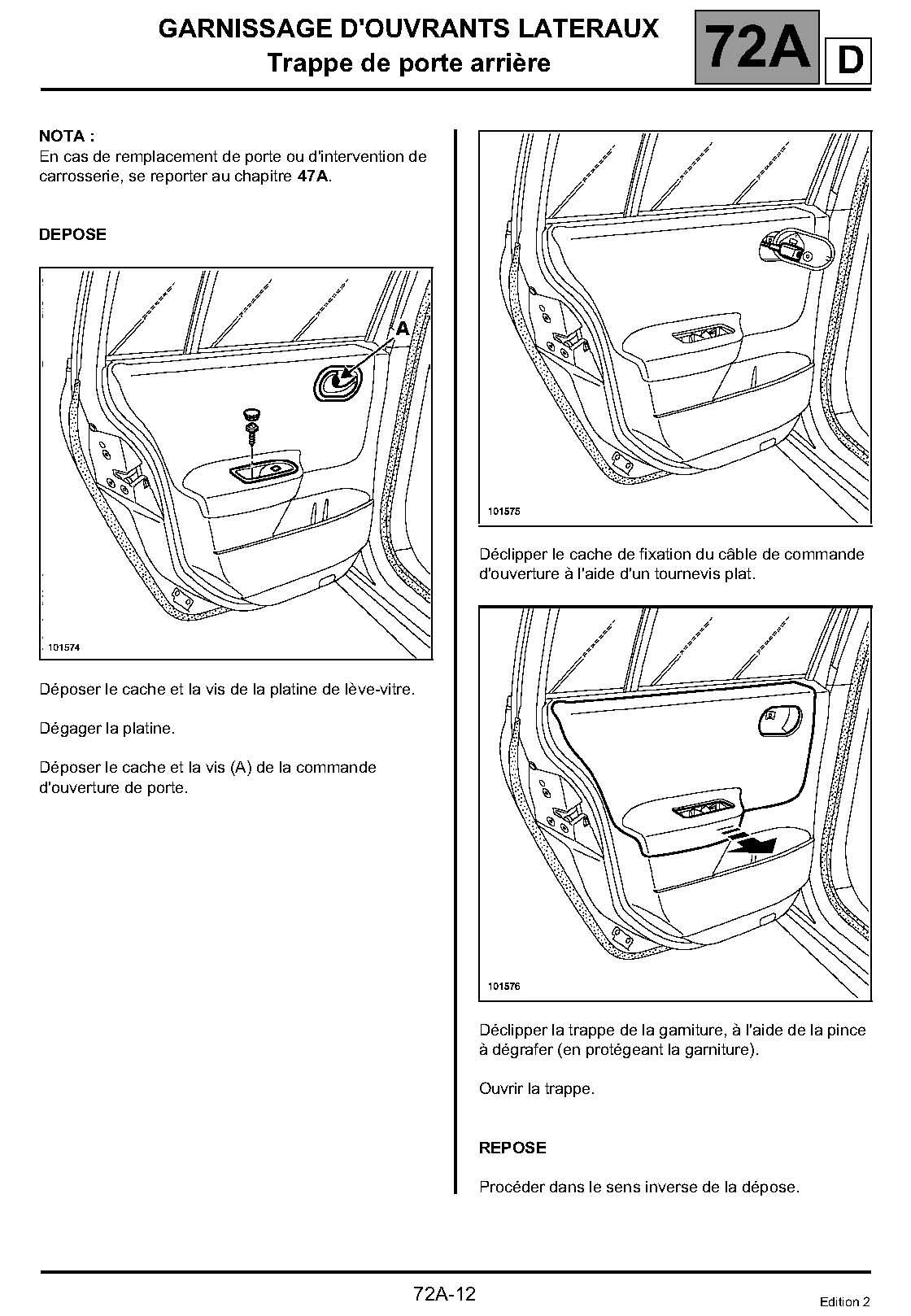 D 233 Montage Contre Porte Megane 2 Auto Titre
