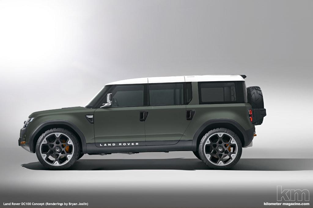 land rover defender concept dc100 auto titre. Black Bedroom Furniture Sets. Home Design Ideas
